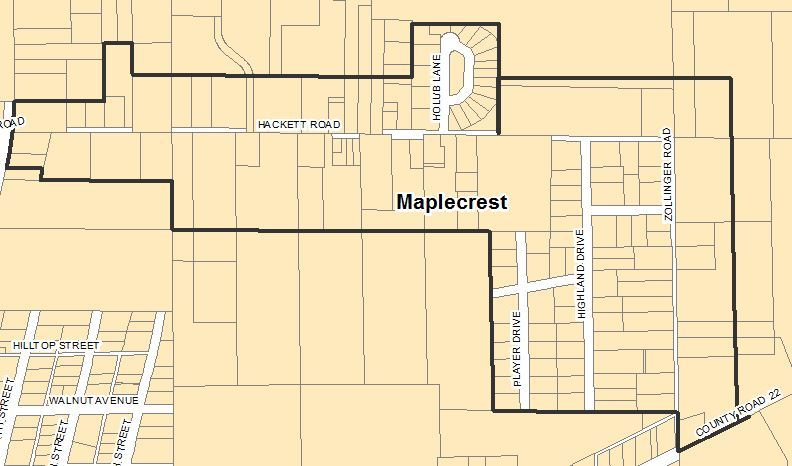 maplecrest goshen indiana