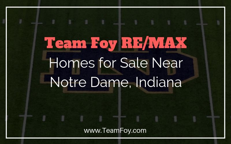 notre dame homes for sale